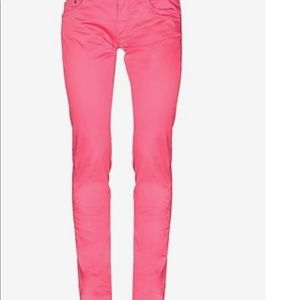 NWT dondup pantalone Dionis rose jeans size 27